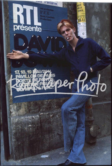 David Bowie, Paris 1976