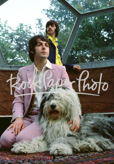 Paul McCartney & Ringo Starr by Tom Murray, Martha
