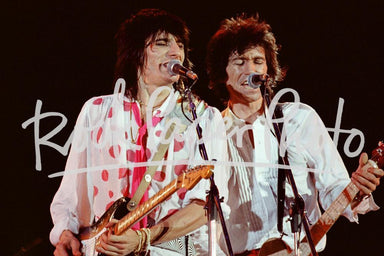 Ronnie Wood & Keith Richards by Alan Perry