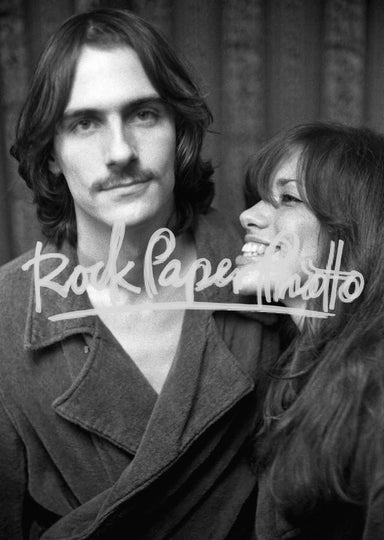 James Taylor & Carly Simon by Peter Simon