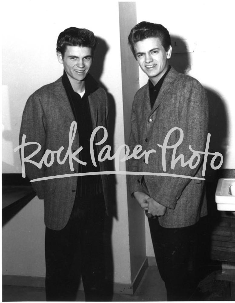 The Everly Brothers by Lew Allen