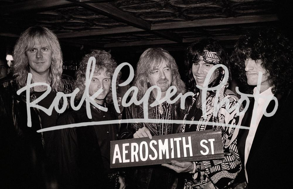 Aerosmith by Larry Busacca