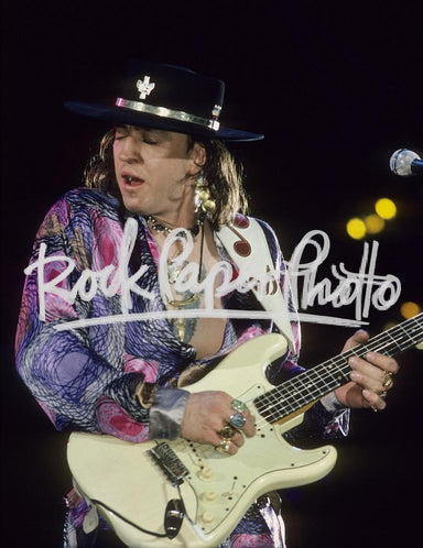 Stevie Ray Vaughan by Larry Busacca