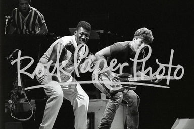Clarence Clemons & Bruce Springsteen by Kevin Mazu