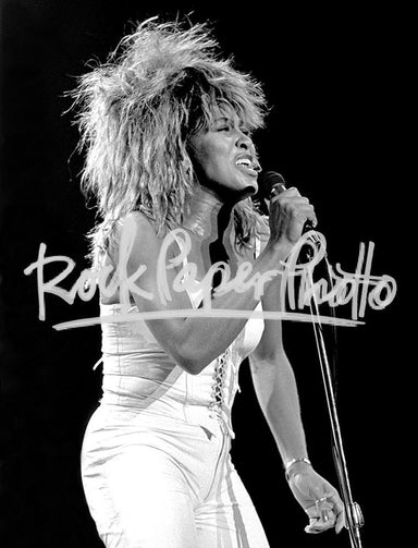 Tina Turner by Ron Pownall