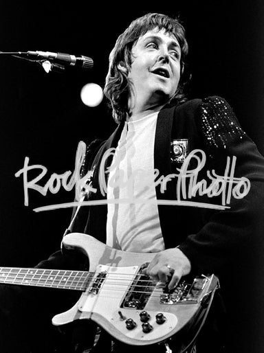 Paul McCartney by Ron Pownall