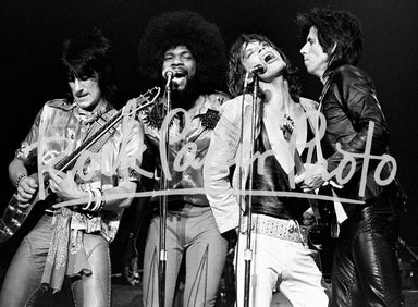 The Rolling Stones & Billy Preston by Ron Pownall