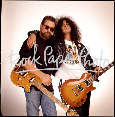 Eddie Van Halen & Slash by Mark Hanauer