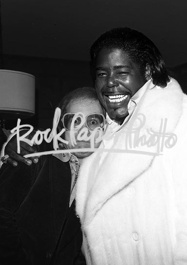 Elton John & Barry White by James Fortune