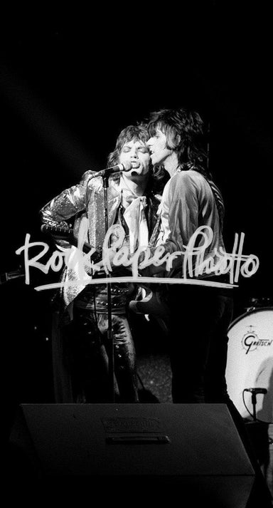 Mick Jagger & Keith Richards by James Fortune