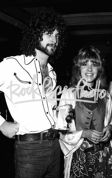 Lindsey Buckingham & Stevie Nicks by James Fortune