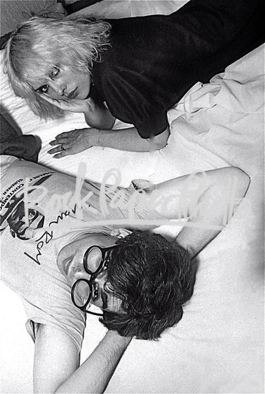 Debbie Harry and Chris Stein by Marcia Resnick
