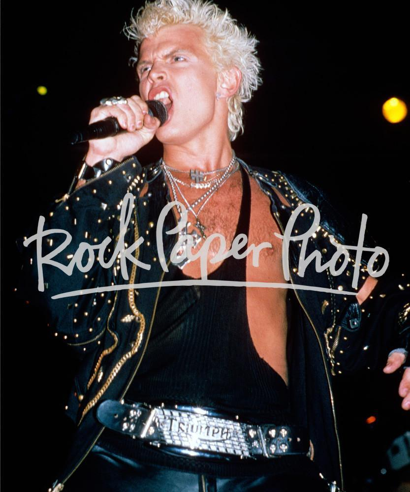 Billy Idol by David Plastik