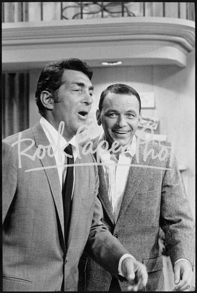 Dean Martin and Frank Sinatra by Martin Mills