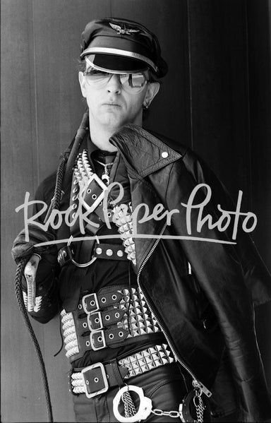 Rob Halford by Neil Zlozower