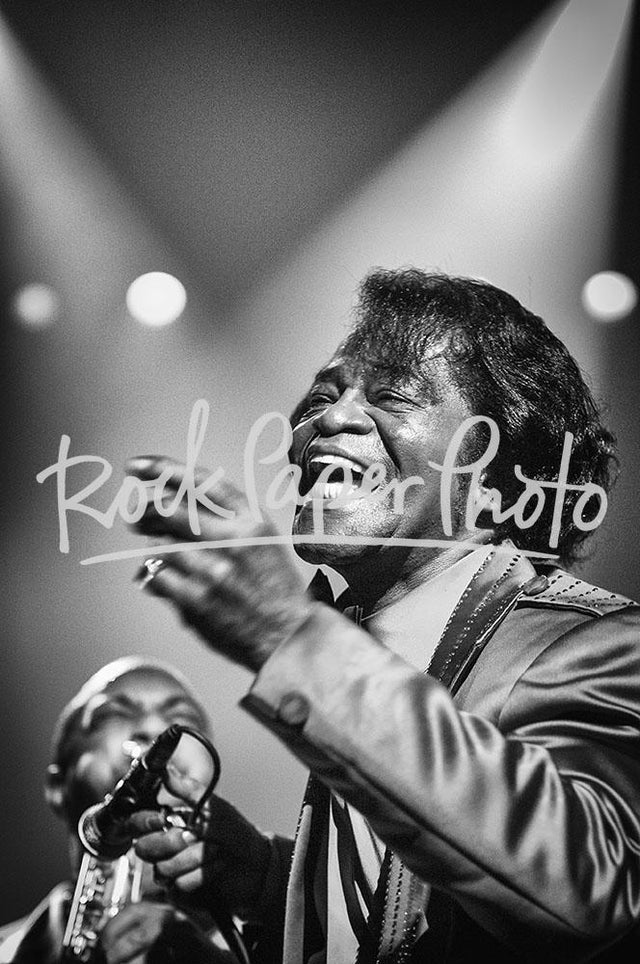 James Brown by Jérôme Brunet