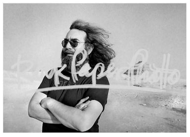 Jerry Garcia by Adrian Boot