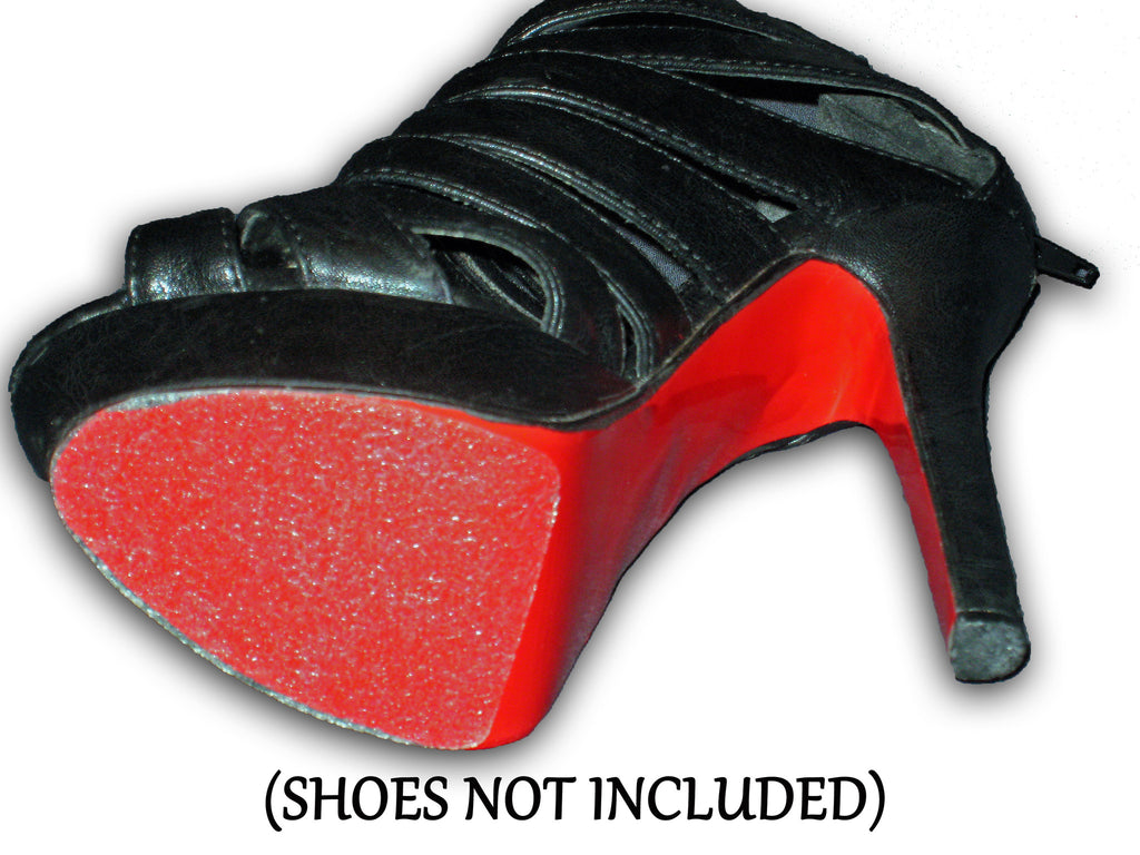 Slip resistant/ protector for heels on red bottoms