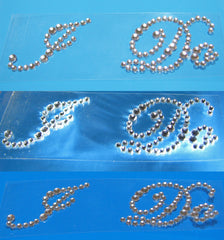 Different colors of rhinestone sole sticker