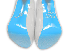 """I Do"" rhinestone sole sticker"