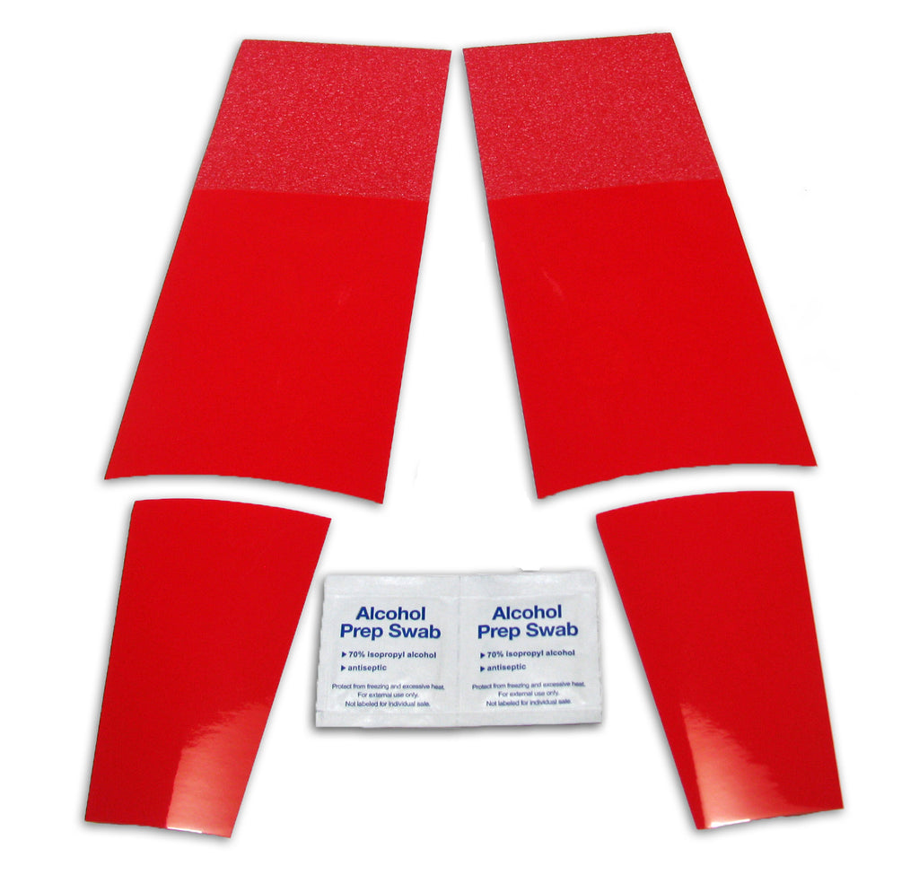 red bottoms shoe sole kit
