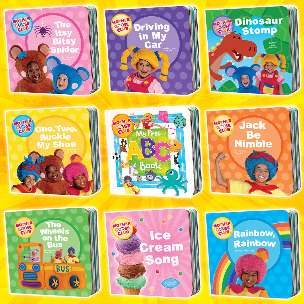 The 9 Board Book Bundle