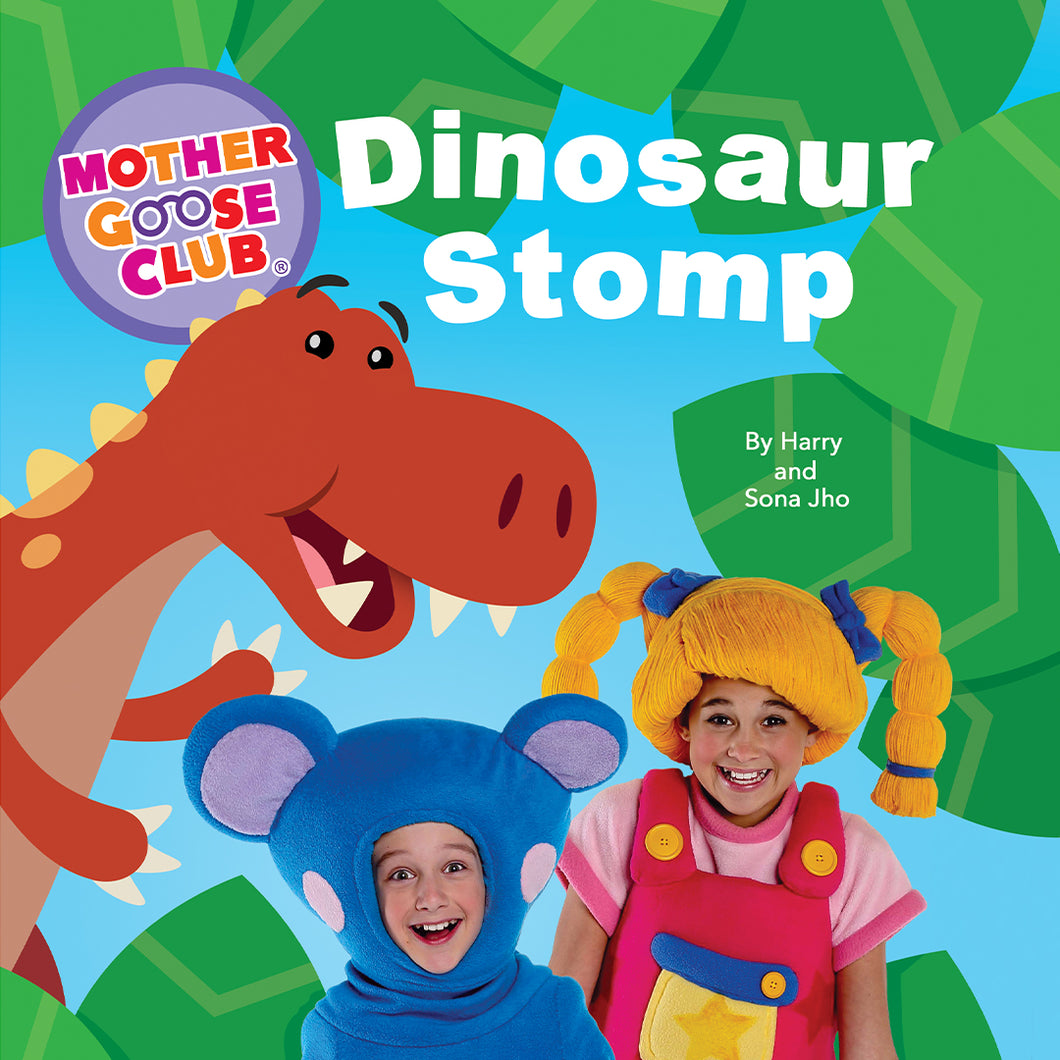 Dinosaur Stomp Board Book