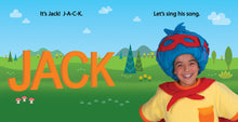 Load image into Gallery viewer, Jack Be Nimble Board Book