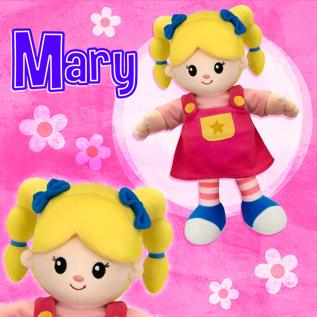 Mary Q. Contrary Plush Doll