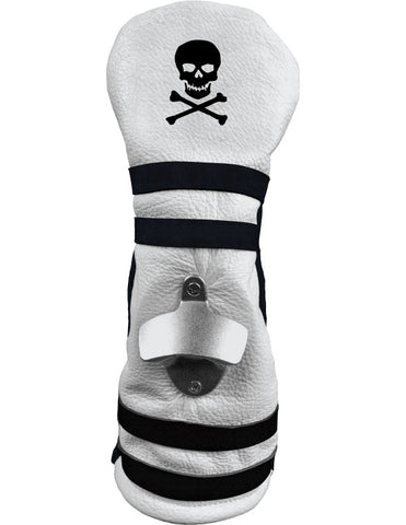 "The ""Course Popper"" White/Black Skulls"