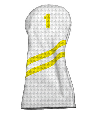 Carbon Fiber - White/Yellow