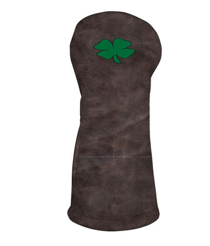 Shamrock - Distressed Brown/Kelly Green
