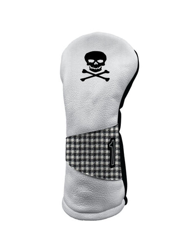 A Sideways - Skull & X Bones (White/Black/Check)