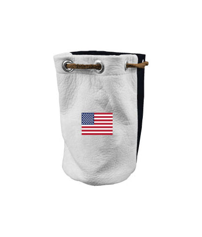Valuable Pouch - USA Embroidered Flag