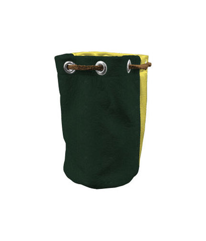 Valuable Pouch - Hunter Green / Yellow