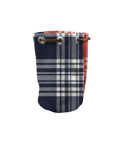 Valuable Pouch - Navy/ Red Menzie