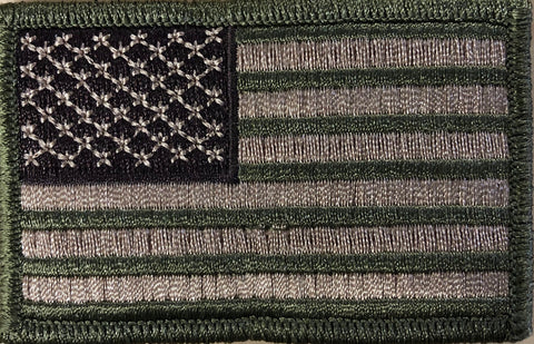 A Sideways - New Camo w/ Fatigue USA Patch