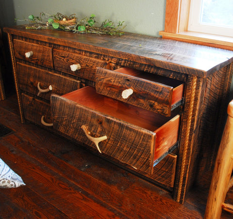 Buckboard Rough Cut Dresser