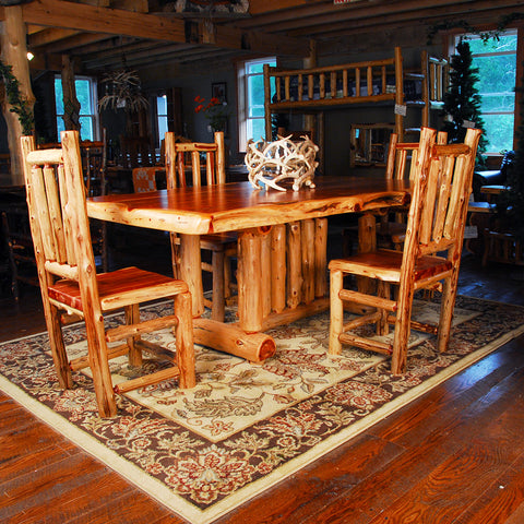 Katmai Cedar Table and Chair Set