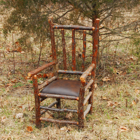 Hickory Captain's Chair