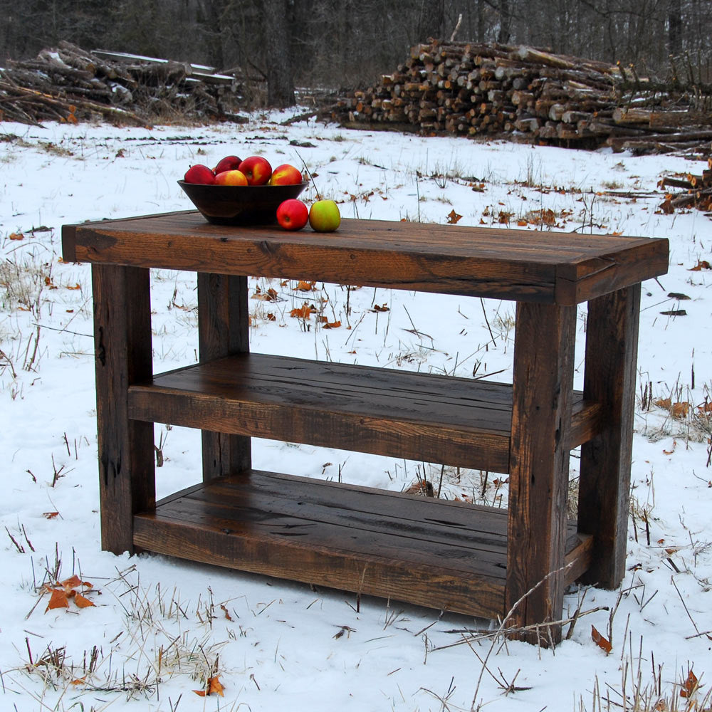 Rustic Sofa TableRustic Table With Storage
