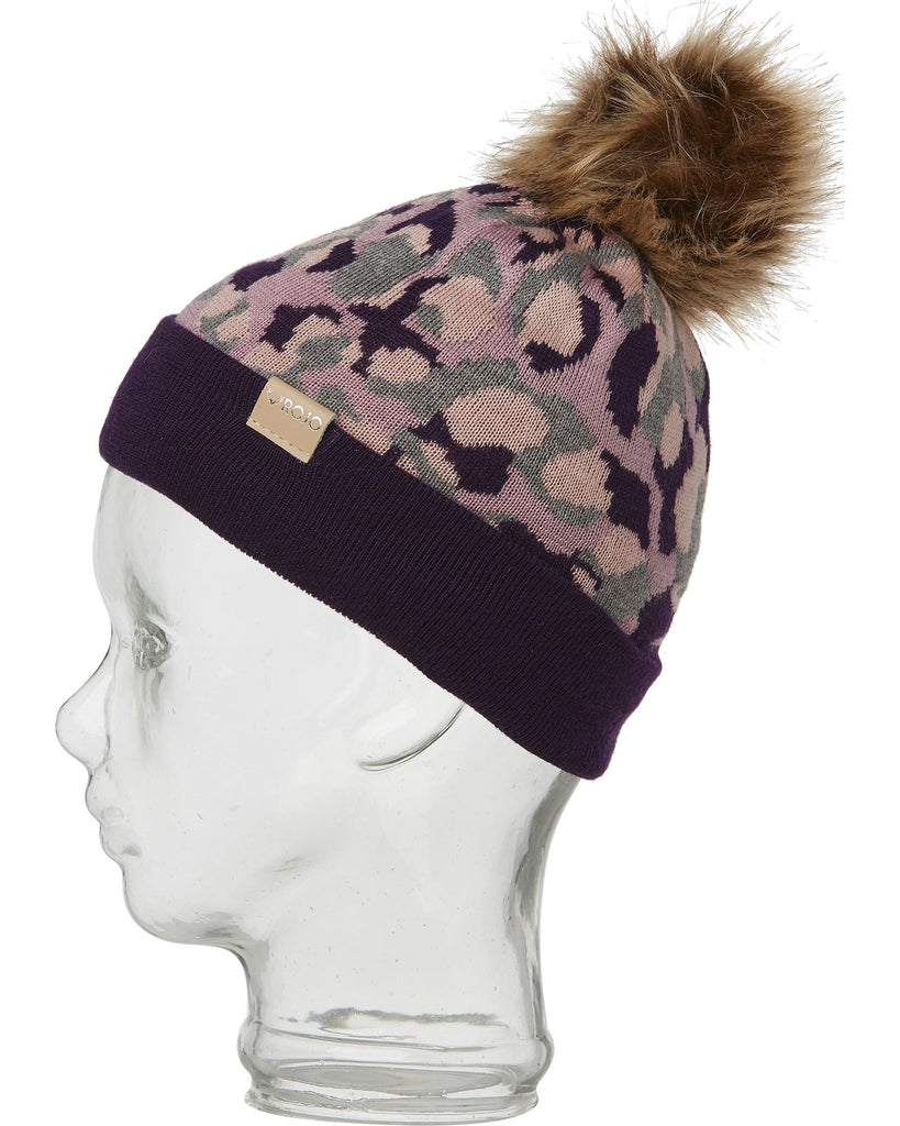 CHANGING SPOTS BEANIE