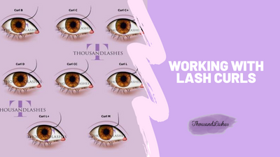 Working with Lash Curls
