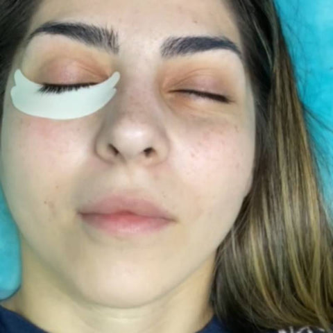 Best under eye pads for lash extensions