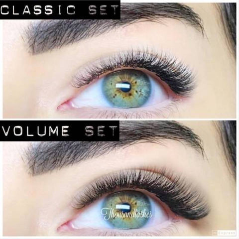Can you go from classic to volume lashes?