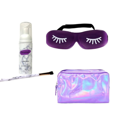Deluxe Aftercare Kit For Eyelash Extensions