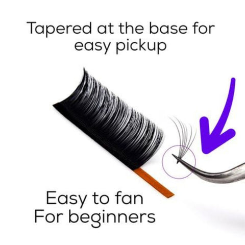 Easy Fan Lashes (Mix Length)