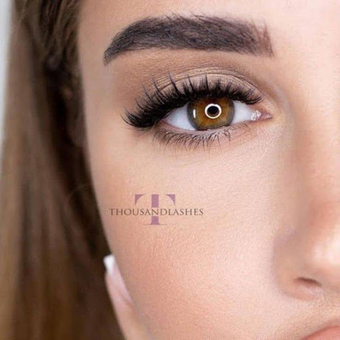 How to create natural looking eyelash extensions for your clients?