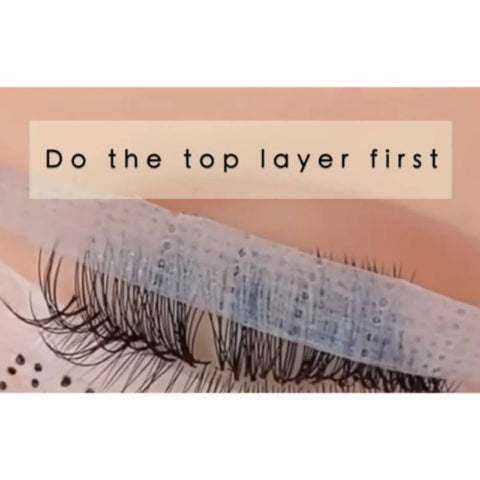 How to lash in layers?