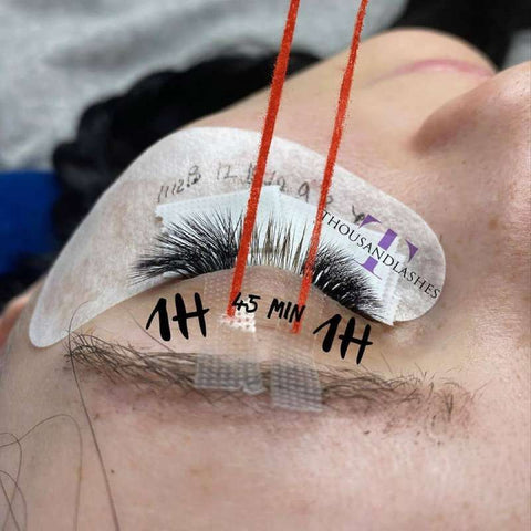 How can I speed up my eyelash extensions?